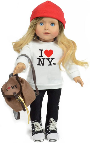 Kay I Love Ny Doll-Kidding Around NYC