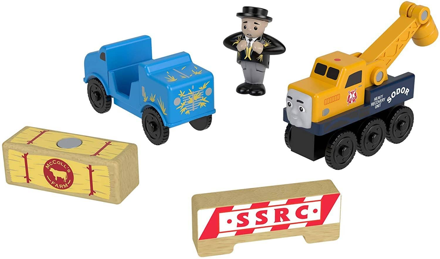 Thomas & Friends Wooden Railway: Butch's Road Rescue-Kidding Around NYC
