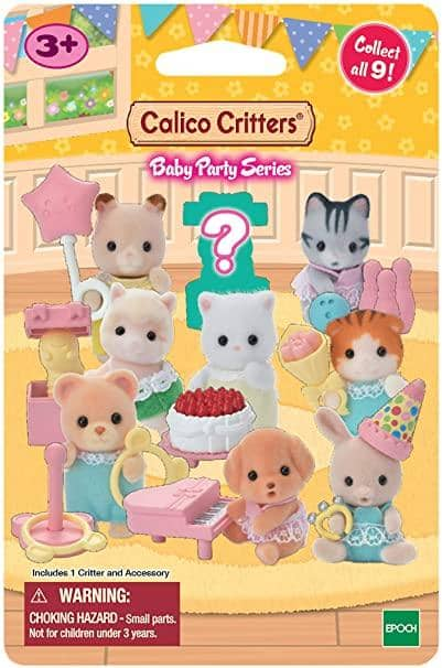 Calico Critters Baby Party Series Blind Bags