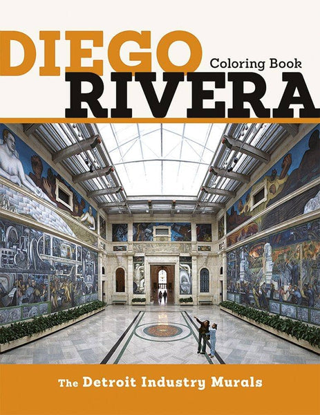 Diego Rivera Coloring Book-Kidding Around NYC