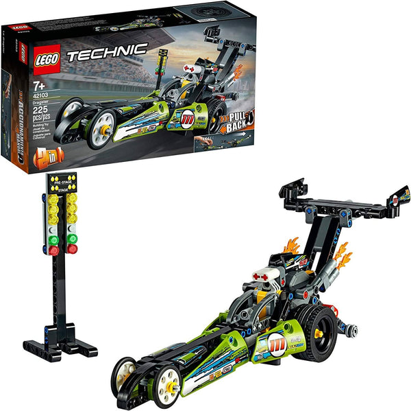 LEGO 42103: Technic: Dragster (225 Pieces)-Kidding Around NYC