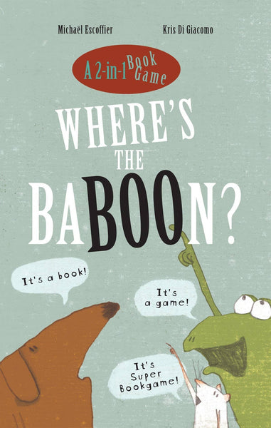 Where's The Baboon (Hardcover)-Kidding Around NYC