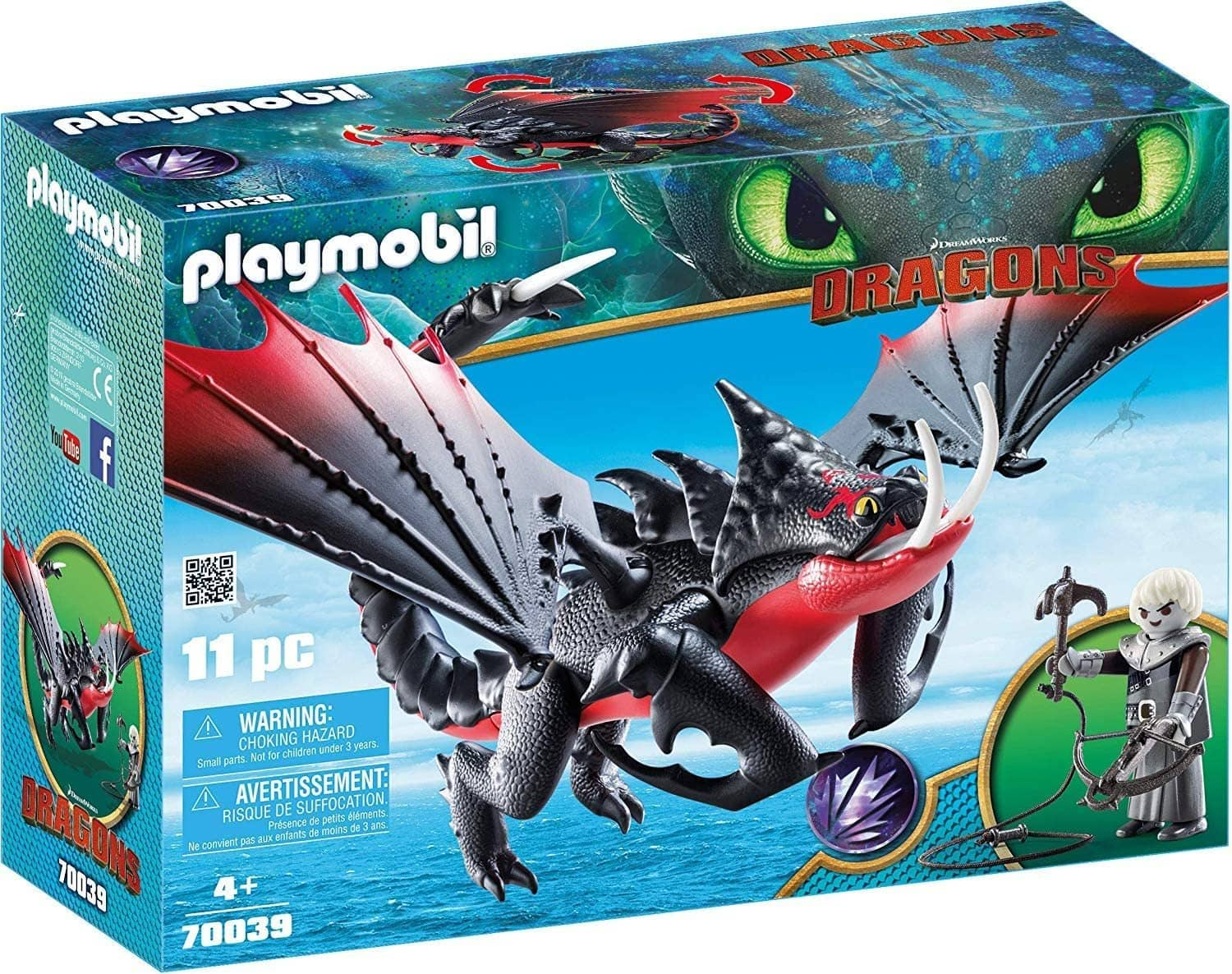 How To Train Your Dragon III: Deathgripper with Grimmel (70039)-Kidding Around NYC