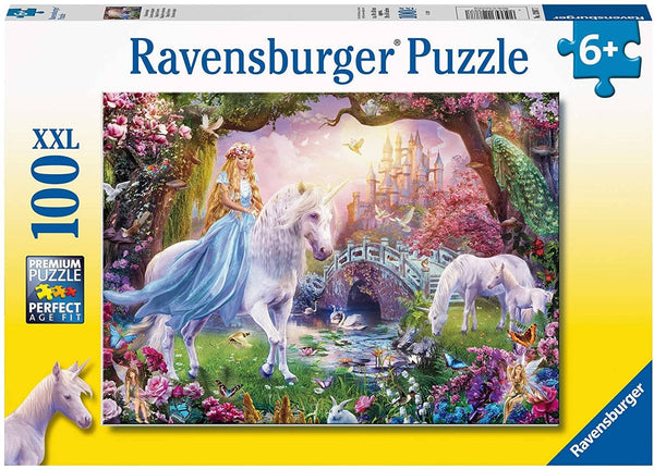 Ravensburger 12887: Unicorn Magic (100 Piece Jigsaw Puzzle)