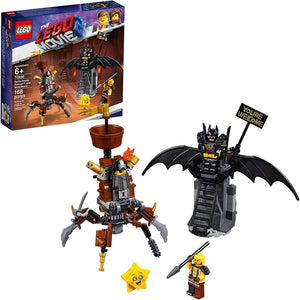 LEGO 70836: LEGO Movie 2: Battle Ready Batman And MetalBeard (168 Pieces)-Kidding Around NYC