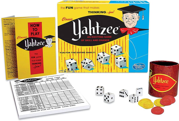 Classic Yahtzee Game-Kidding Around NYC