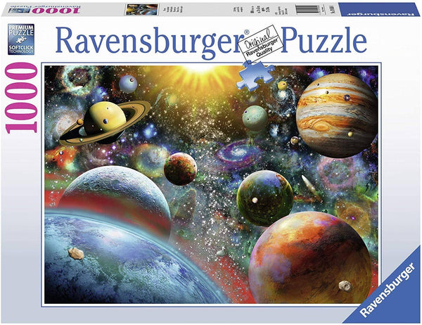 Ravensburger 19858: Planetary Vision (1000 Piece Jigsaw Puzzle)