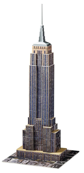 Ravensburger Empire State Building 216 Piece 3D Jigsaw Puzzle-Kidding Around NYC