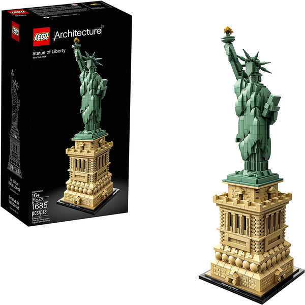 LEGO 21042: Architecture: Statue of Liberty (1685 pieces)-Kidding Around NYC
