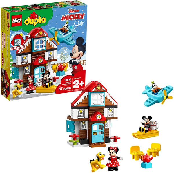 LEGO 10889: DUPLO: Disney: Mickey's Vacation House (57 Pieces)