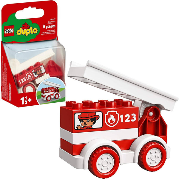 LEGO 10917: DUPLO: Fire Truck (6 Pieces)-Kidding Around NYC