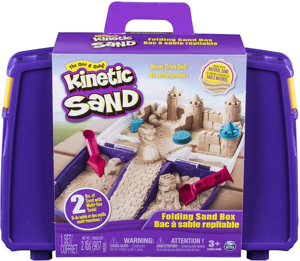 Kinetic Sand Folding Sand Box-Kidding Around NYC