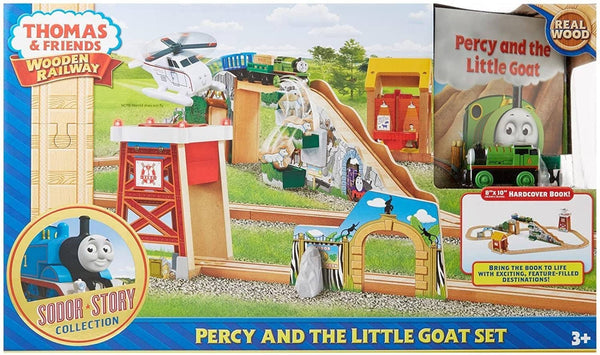 Thomas & Friends Wooden Railway: Percy And The Little Goat Set