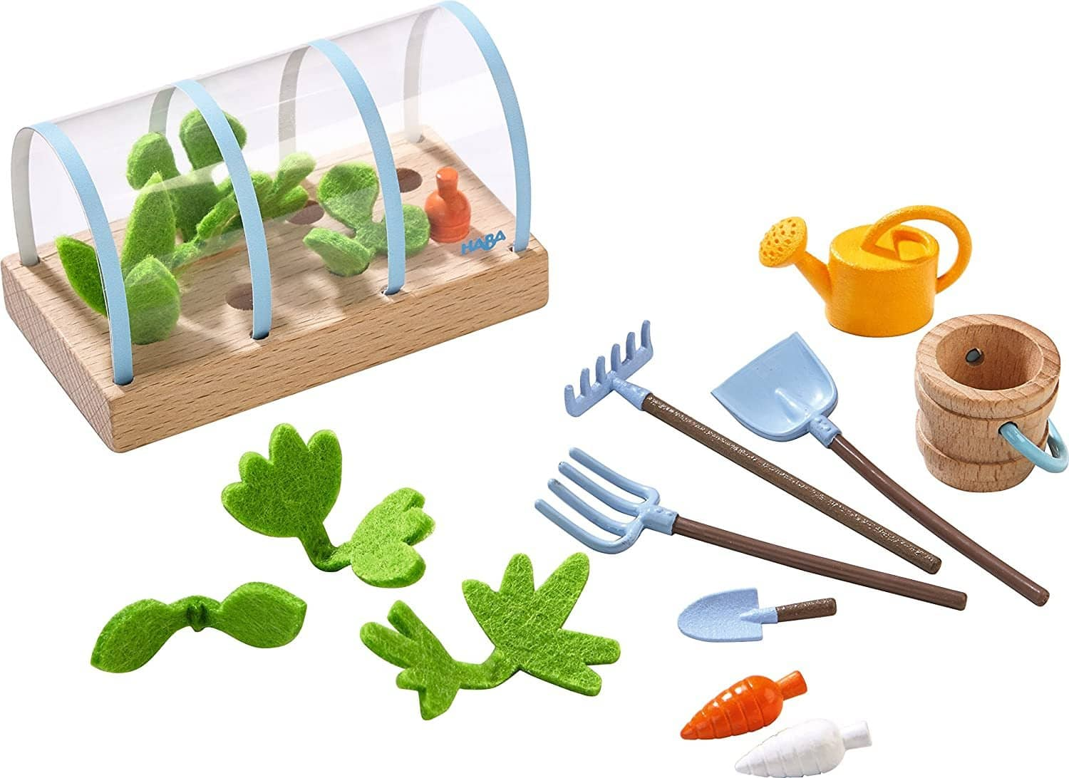 "Little Friends Vegetable Garden Playset Accessory For 4"" Bendy Doll Figures-Kidding Around NYC"