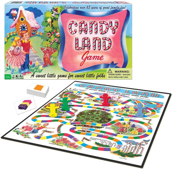 Classic Candy Land 65Th Anniversary Game-Kidding Around NYC