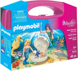 Magical Mermaids Carry Case Building Set-Kidding Around NYC