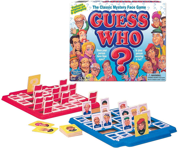 Classic Guess Who? Game-Kidding Around NYC