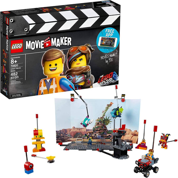 LEGO 70820: LEGO Movie 2: Movie Maker (482 Pieces)-Kidding Around NYC