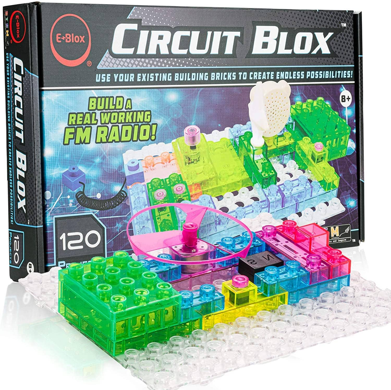 E-Blox Circuit Blox 120 Projects-Kidding Around NYC