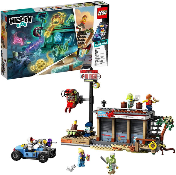 LEGO 70422: Hidden Side: Shrimp Shack Attack (579 Pieces)-Kidding Around NYC