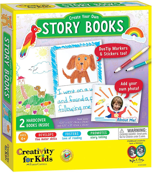Create Your Own Story Books-Kidding Around NYC