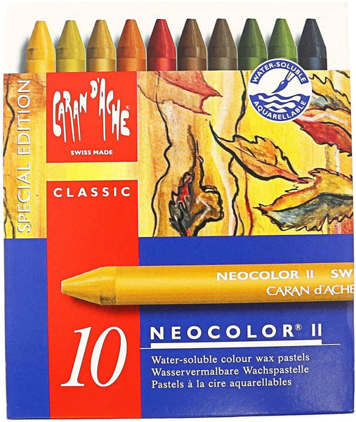 Neocolor 2 10 Wax Based Crayons-Kidding Around NYC