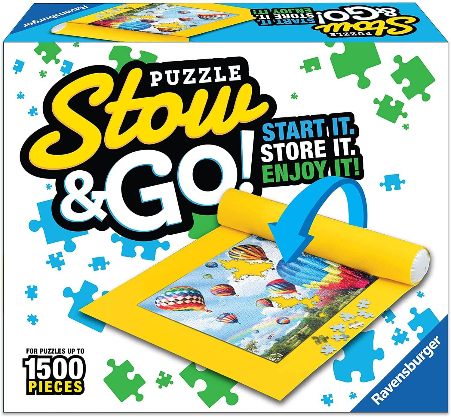 Ravensburger 17960 Puzzle Stow And Go, 1500 Pieces, 46 X 26 Inches-Kidding Around NYC