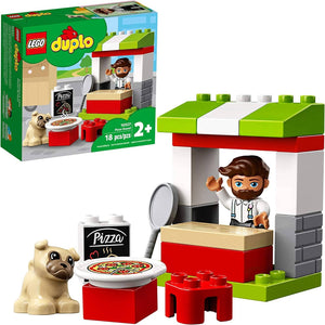 LEGO 10927: DUPLO: Pizza Stand (18 Pieces)-Kidding Around NYC