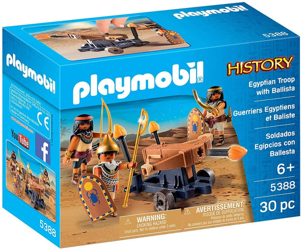 PLAYMOBIL® Egyptian Troop with Ballista