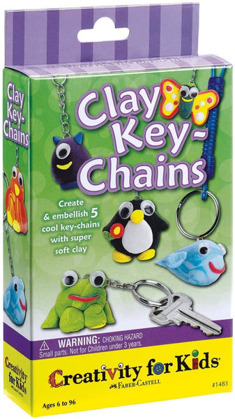 Clay Keychains-Kidding Around NYC