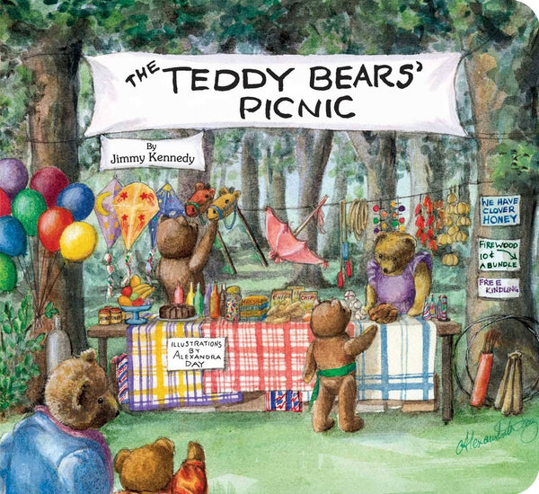Teddy Bears Picnic (Board Book)-Kidding Around NYC