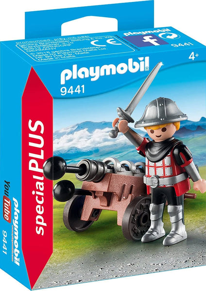 PLAYMOBIL Special Plus 9441 Knight with Cannon