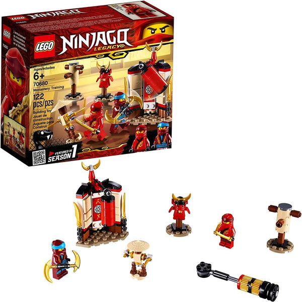 LEGO NINJAGO Legacy Monastery Training 70680 Building Kit (122 Pieces)