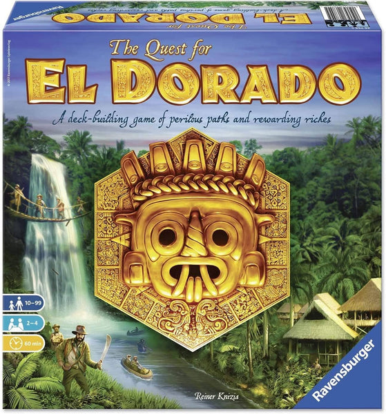 The Quest for El Dorado Board Game