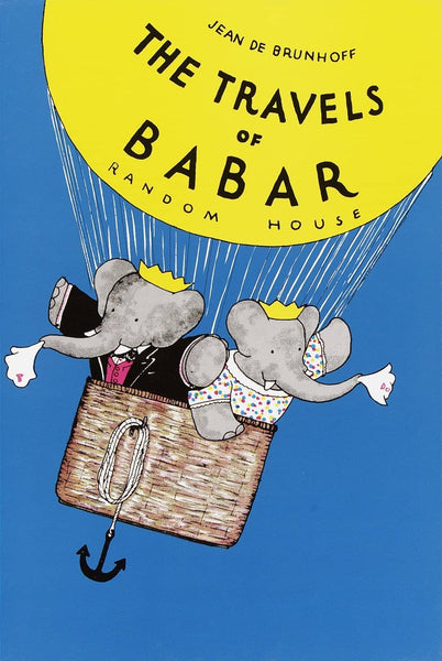 The Travels Of Babar (Hardcover)-Kidding Around NYC