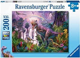 Ravensburger 12892: King of The Dinosaurs (200 Piece Jigsaw Puzzle)