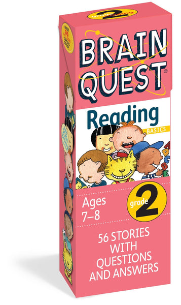 Brain Quest Reading Grade 2 Deck-Kidding Around NYC