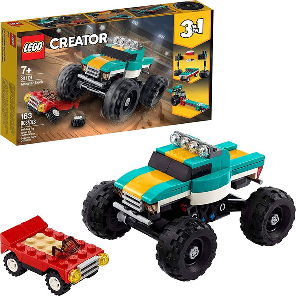 LEGO 31101: Creator: 3-in-1 Monster Truck (163 Pieces)-Kidding Around NYC