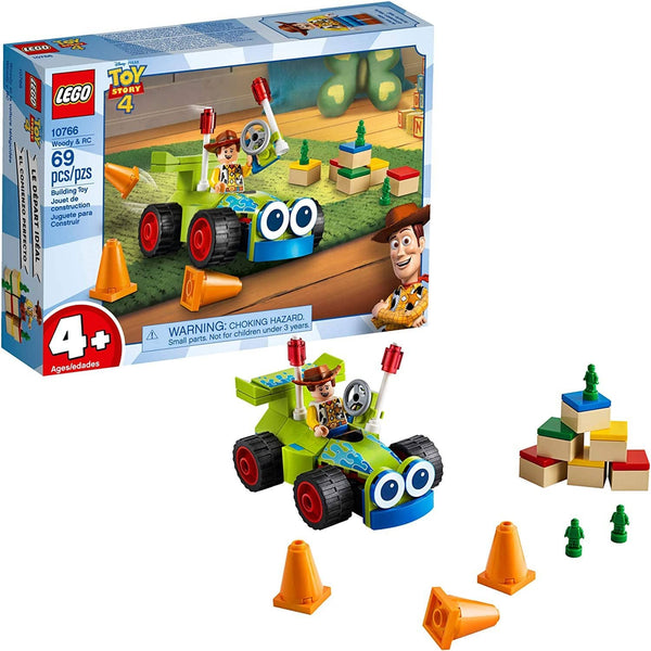 LEGO 10766: Disney: Pixar's Toy Story 4: Woody & RC (69 Pieces)-Kidding Around NYC
