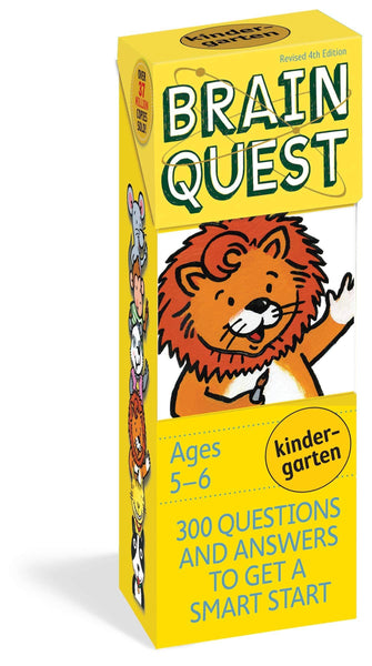 Brain Quest Kindergarten Deck-Kidding Around NYC