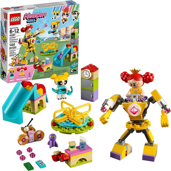 LEGO 41287: The Powerpuff Girls: Bubbles' Playground Showdown (144 Pieces)-Kidding Around NYC
