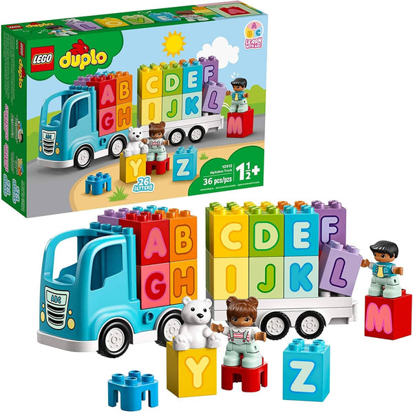 Lego Duplo My First Alphabet Truck 10915 Abc Letters Learning Toy For Toddlers, Fun Kids' Educational Building Toy, New 2020 (36 Pieces)-Kidding Around NYC