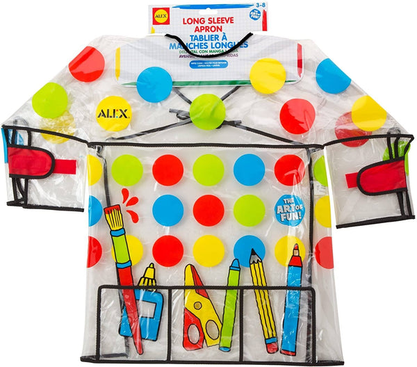 Long Sleeve Artist Apron/Smock-Kidding Around NYC
