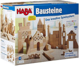 Basic Building Blocks 102 Piece Extra Large Wooden Starter Set (Made In Germany)-Kidding Around NYC