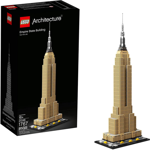 LEGO 21046: Architecture: Empire State Building (1767 pieces)-Kidding Around NYC