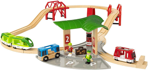 Brio World Travel Station Set 25 Pc-Kidding Around NYC