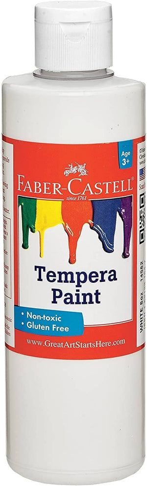 White Tempera Paint-Kidding Around NYC