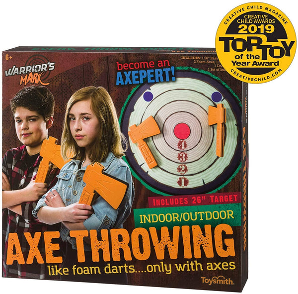 Axe Throwing Game-Kidding Around NYC