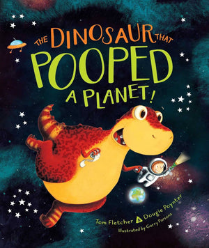 The Dinosaur That Pooped A Planet (Hardcover)-Kidding Around NYC