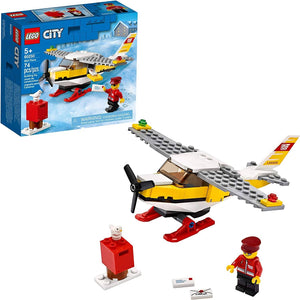 LEGO 60250: City: Mail Plane (74 Pieces)-Kidding Around NYC